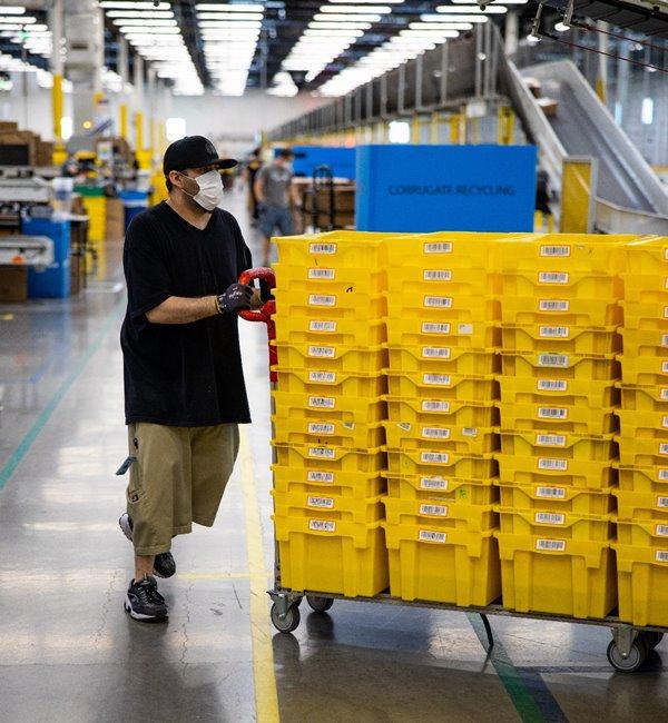 """Amazon ปลดล็อคการค้าอีคอมเมิร์ซข้ามพรมแดนสอดรับวิถี """"New Normal"""""""