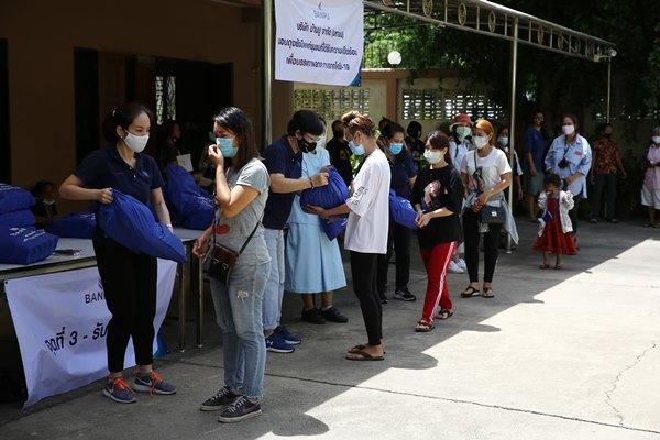 พลังน้ำใจจากบ้านปูฯ ร่วมบรรเทาความเดือดร้อน ส่งมอบความช่วยเหลือสู่ผู้ได้รับผลกระทบจากโควิด-19 ในพัทยา