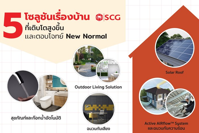 SCG เปิดสถิติพฤติกรรมคนไทย และความต้องการด้านบริการปรับปรุงบ้าน ที่เติบโตในช่วง Lock Down พร้อมตอบโจทย์ชีวิต New Normal