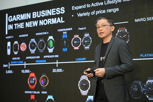 """GARMIN เปิดตัว """"นาย-ณภัทร"""" ไลฟ์สไตล์พรีเซนเตอร์คนแรกของไทย ตอกย้ำผู้นำตลาดสมาร์ทวอทช์ ขยายสู่ตลาด Active Lifestyle"""