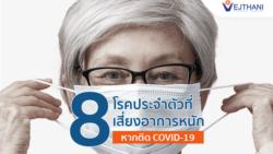 8 กลุ่มเสี่ยง ที่อาจมีอาการรุนแรงหากติดโควิด-19