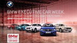 มิลเลนเนียม ออโต้ จัดมหกรรม 'BMW Executive Car Week' ยกทัพรถผู้บริหาร BMW ป้ายแดง ไมล์น้อย ครบทุกรุ่น มากที่สุดกว่า 100 คัน ที่โชว์รูมสาขาพระรามที่ 4